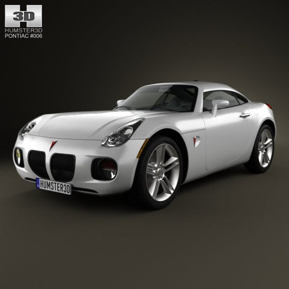Pontiac Solstice Coupe 2009 - 3DOcean Item for Sale