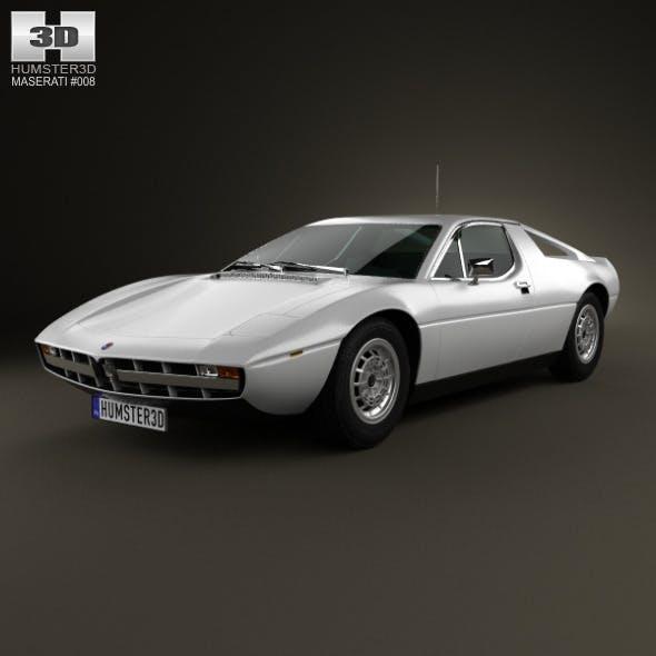 Maserati Merak 1972 - 3DOcean Item for Sale