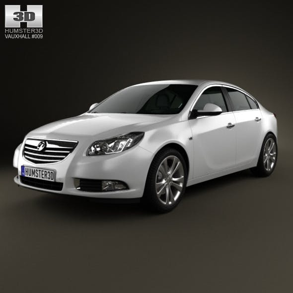 Vauxhall Insignia hatchback 2012 - 3DOcean Item for Sale