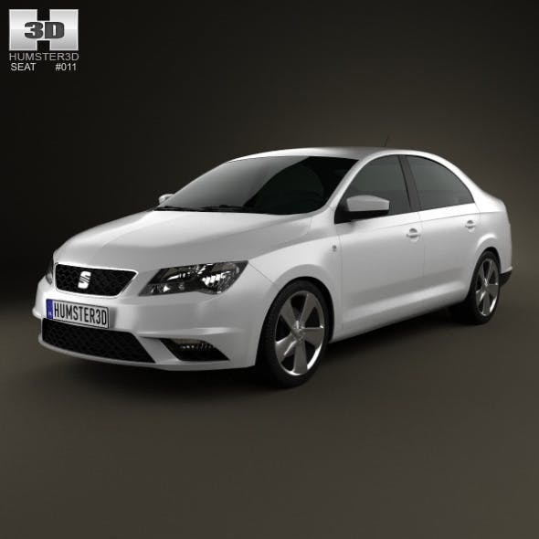 Seat Toledo Mk4 2012  - 3DOcean Item for Sale