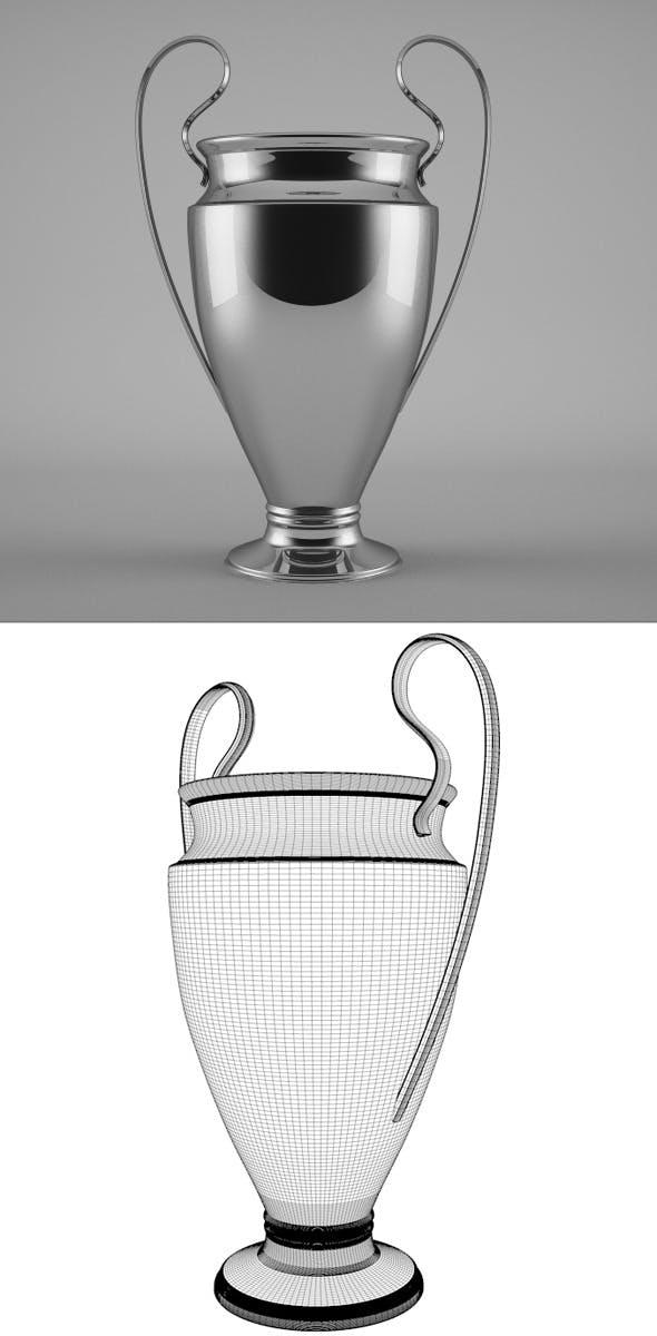 Trophy Model - 3DOcean Item for Sale