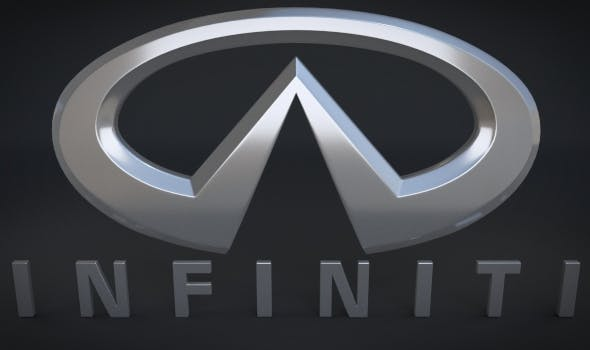 Infiniti Logo - 3DOcean Item for Sale