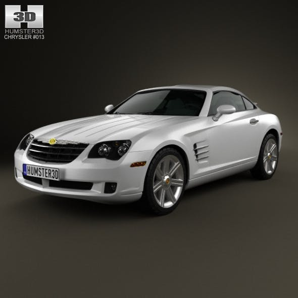 Chrysler Crossfire coupe 2003 - 3DOcean Item for Sale