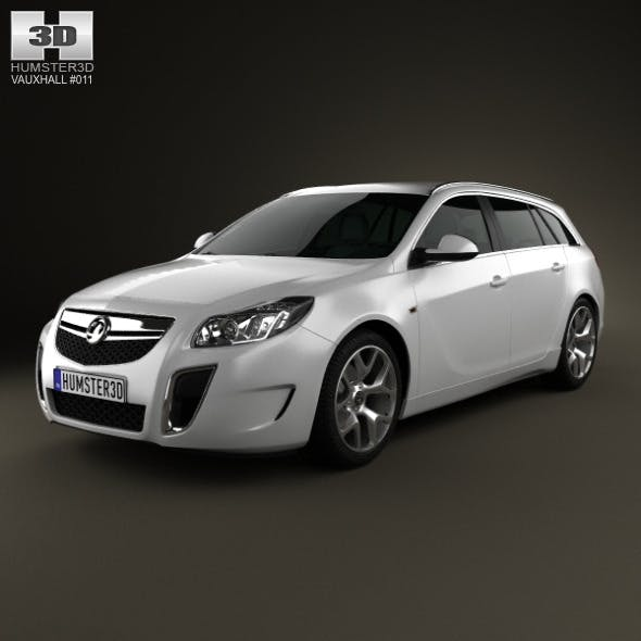 Vauxhall Insignia VXR Sports Tourer 2012 - 3DOcean Item for Sale