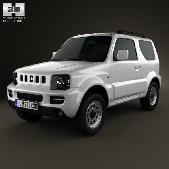 Suzuki Jimny 2012 - 3DOcean Item for Sale
