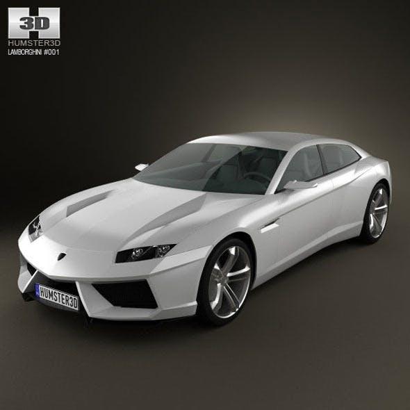 Lamborghini Estoque - 3DOcean Item for Sale
