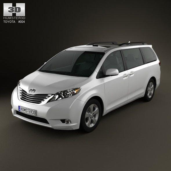 Toyota Sienna 2011 - 3DOcean Item for Sale