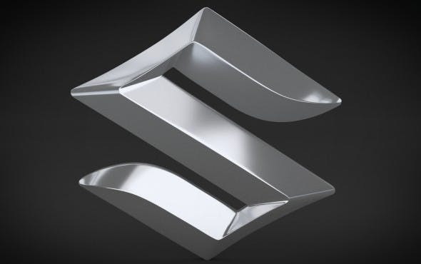 Suzuki Logo - 3DOcean Item for Sale