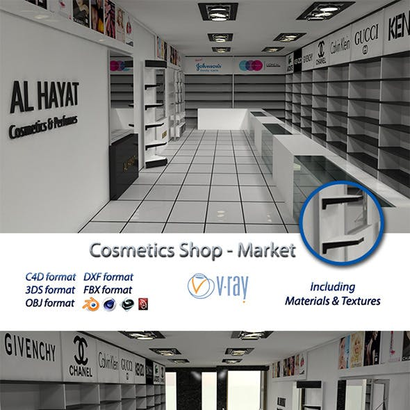 Cosmetics Shop - Market