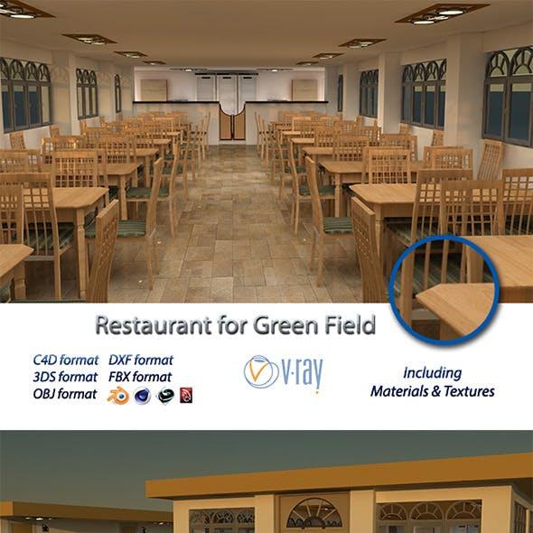 Restaurant for Green Field