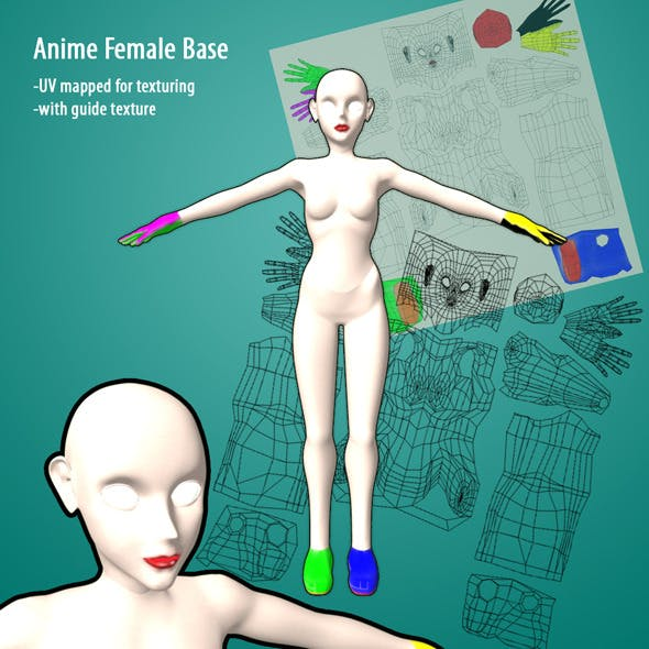 Anime Female Base