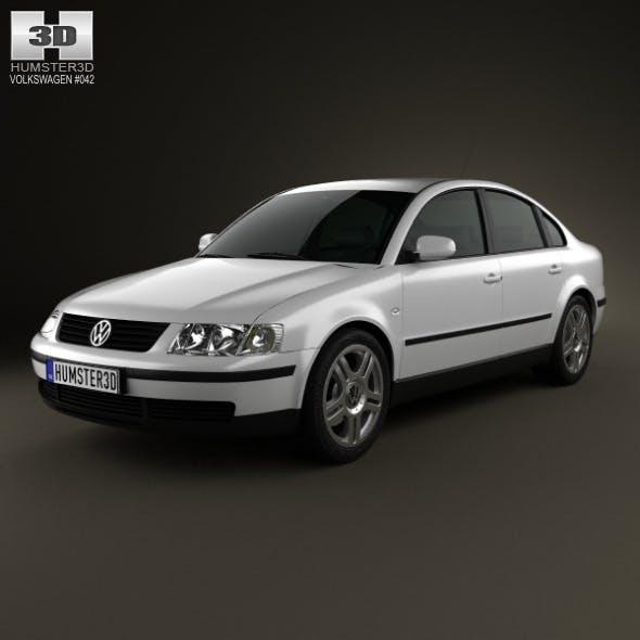 Volkswagen Passat B5 sedan 1997 - 3DOcean Item for Sale