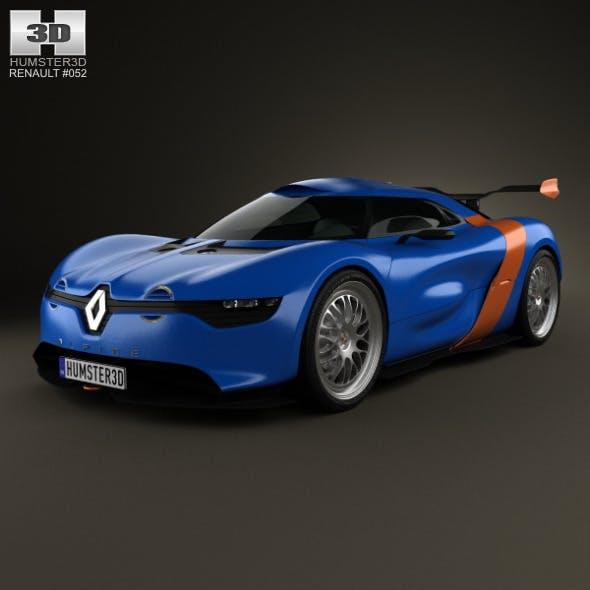 Renault Alpine A110-50 2012 - 3DOcean Item for Sale