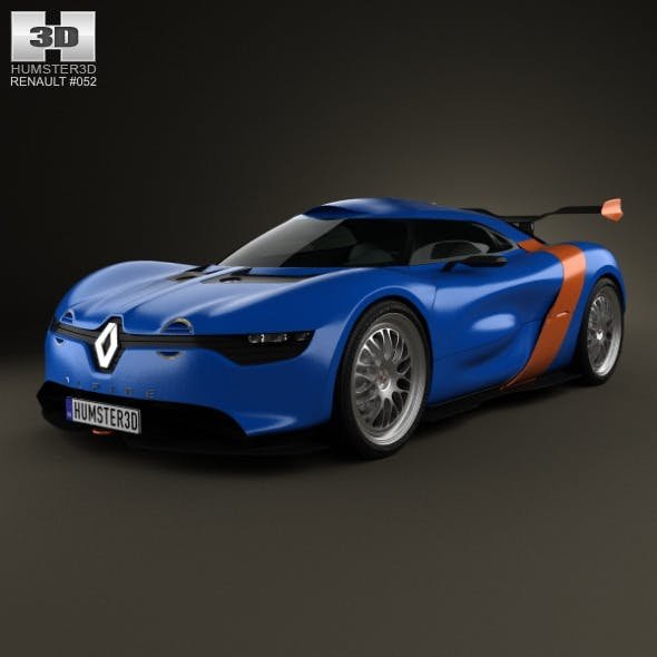Renault Alpine A110-50 2012