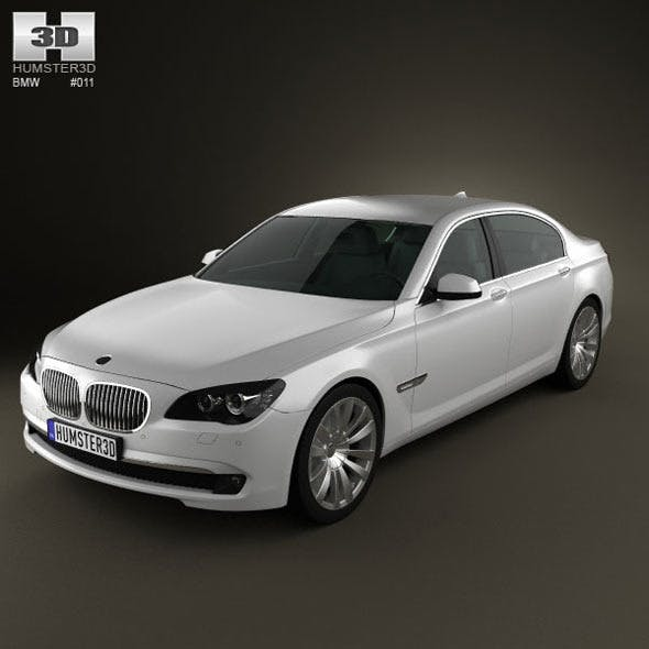 BMW 7-series - 3DOcean Item for Sale