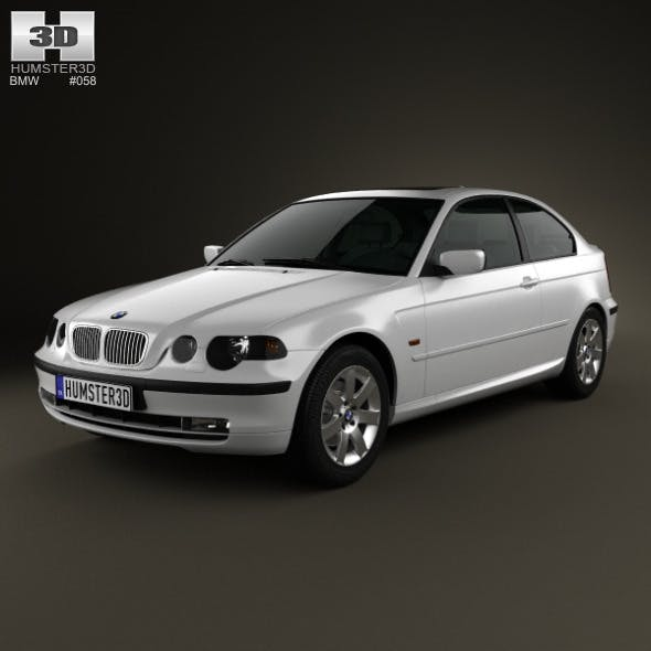 BMW 3 Series compact (E46) 2004 - 3DOcean Item for Sale