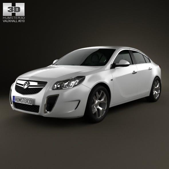 Vauxhall Insignia VXR hatchback 2012 - 3DOcean Item for Sale