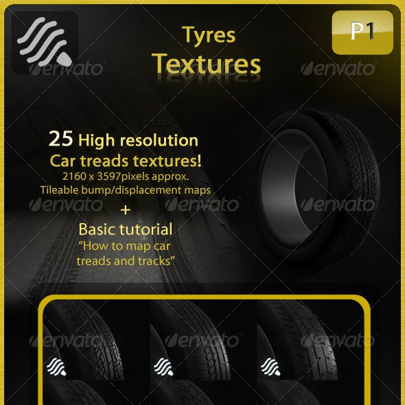Car Tyres Pack