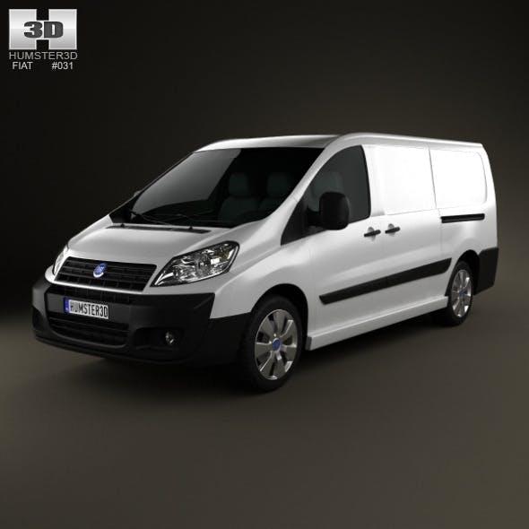 Fiat Scudo Panel Van L2H1 2011 - 3DOcean Item for Sale