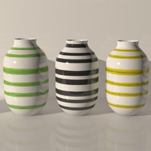 Kahler Omaggio Design Vases