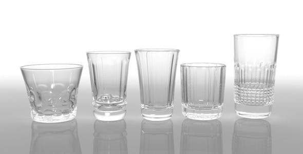 Glass Pack Collection 03 - 3DOcean Item for Sale
