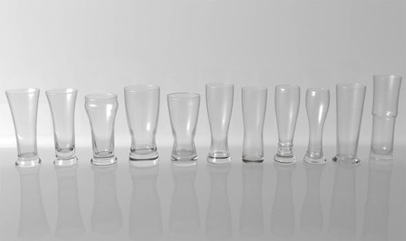 Glass Pack Collection 06 - 3DOcean Item for Sale