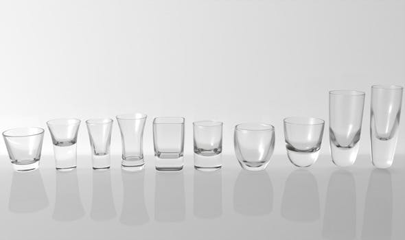 Glass Pack Collection 07 - 3DOcean Item for Sale