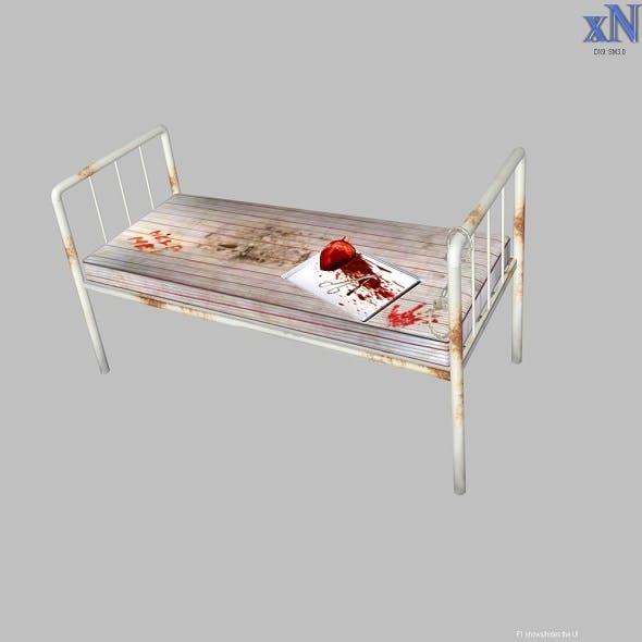 Old Hospital Bed - 3DOcean Item for Sale