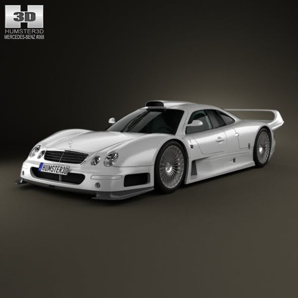 Mercedes-Benz CLK-class GTR AMG 1999 - 3DOcean Item for Sale