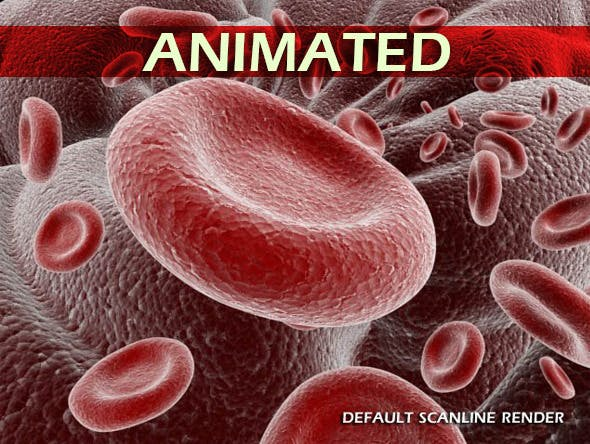 Red Blood Cells Animated - 3DOcean Item for Sale