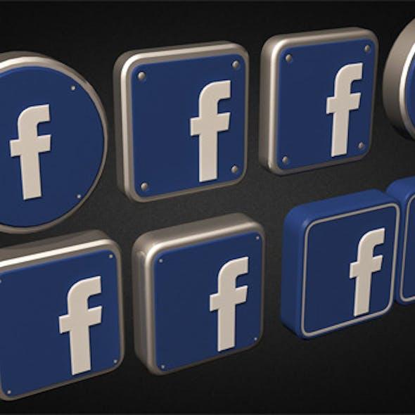 Facebook Logo Collection