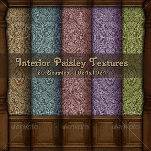 Interior Paisley Textures