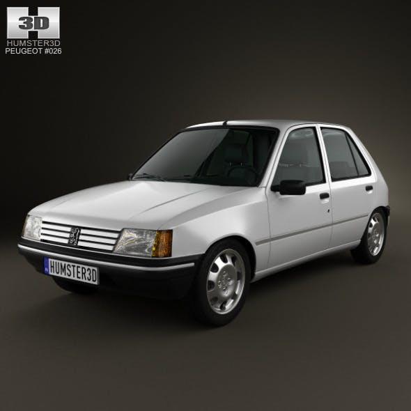 Peugeot 205 5-door 1998 - 3DOcean Item for Sale