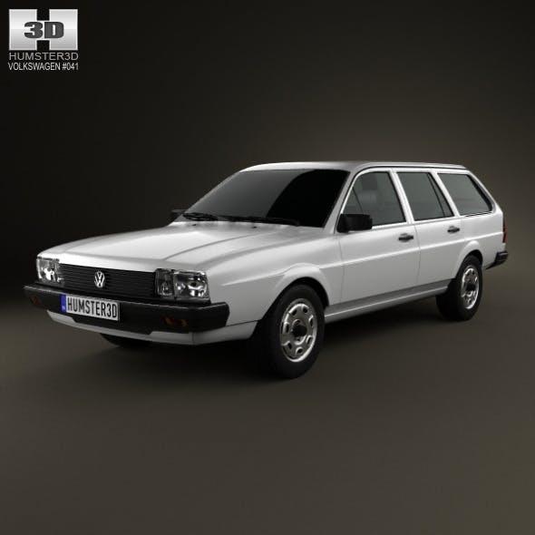 Volkswagen Passat (B2) variant 1981 - 3DOcean Item for Sale