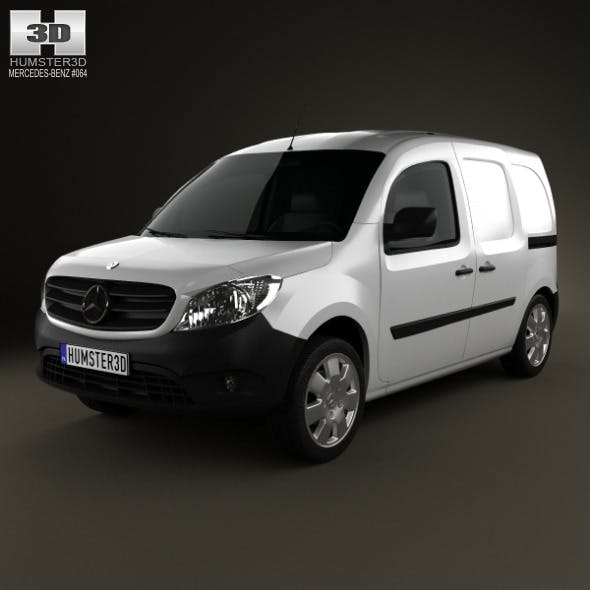 Mercedes-Benz Citan Mixto 2012 - 3DOcean Item for Sale