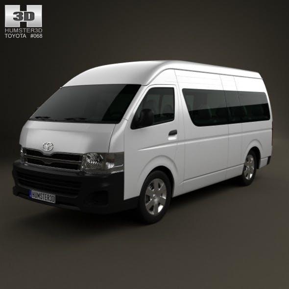 Toyota HiAce Super Long Wheel Base 2012 - 3DOcean Item for Sale
