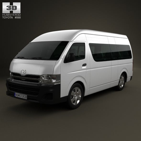 Toyota HiAce Super Long Wheel Base 2012