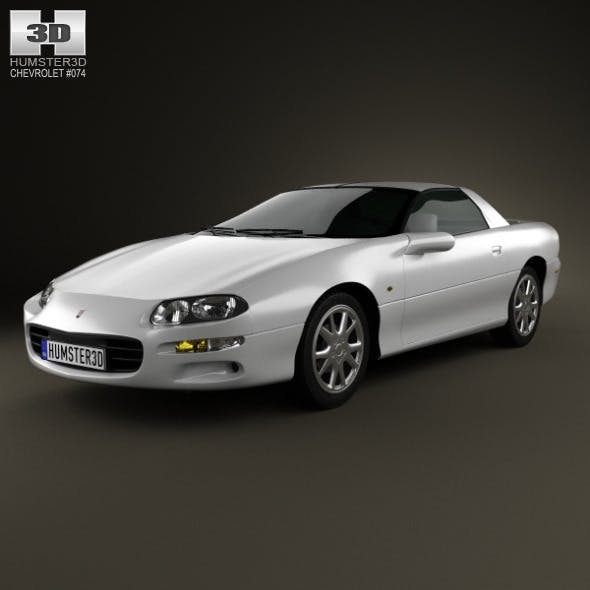 Chevrolet Camaro coupe 2000 - 3DOcean Item for Sale