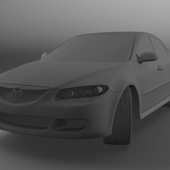 Realistic Mazda 6 Model