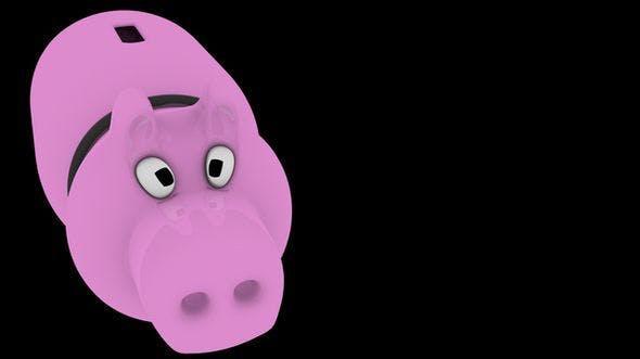Piggy Money Bank - 3DOcean Item for Sale