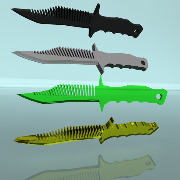 Knife-comb
