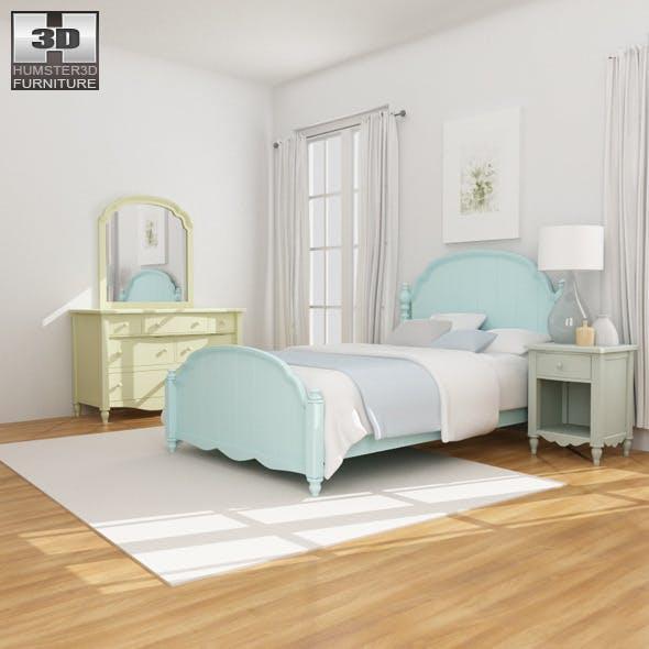 Bedroom Furniture 19 Set  - 3DOcean Item for Sale