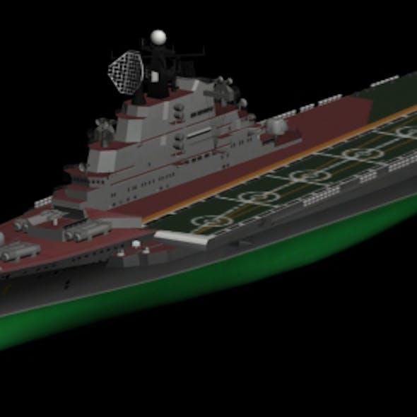 Kiev Heavy Aircraft Carrier Cruiser