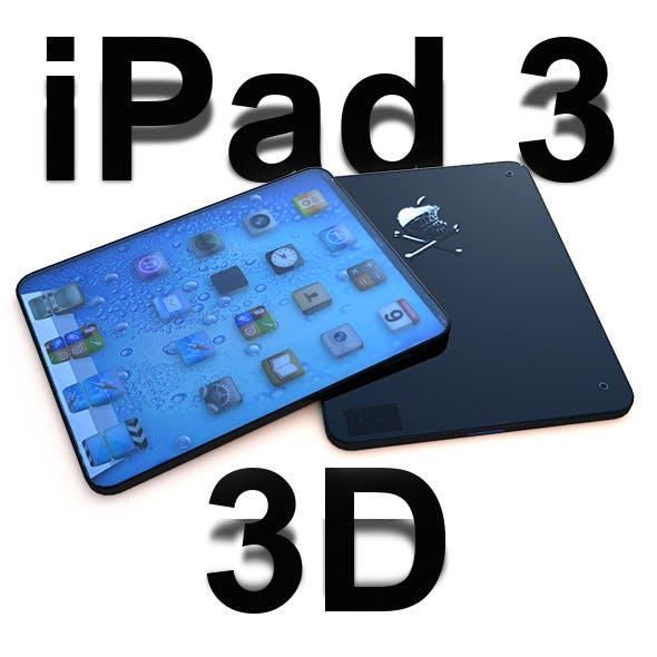 I Pad 3 3D