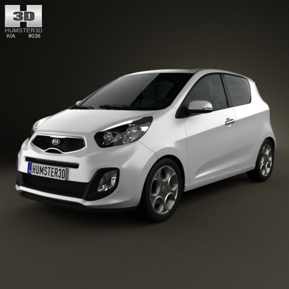 Kia Picanto (Morning) 3-door 2012