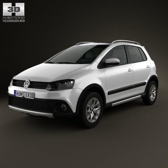 Volkswagen CrossFox 2012 - 3DOcean Item for Sale