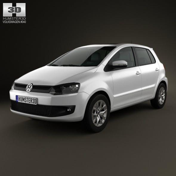 Volkswagen Fox 5-door 2012 - 3DOcean Item for Sale