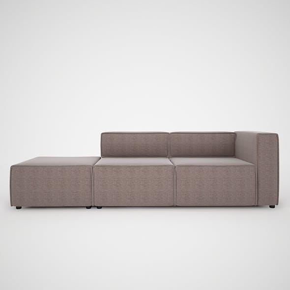 Modern Sofa-BoConcept - 3DOcean Item for Sale