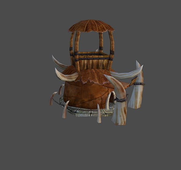 Orc Hut - 3DOcean Item for Sale