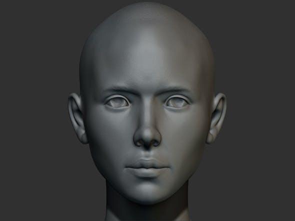 Female Anatomy Model Angela - 3DOcean Item for Sale